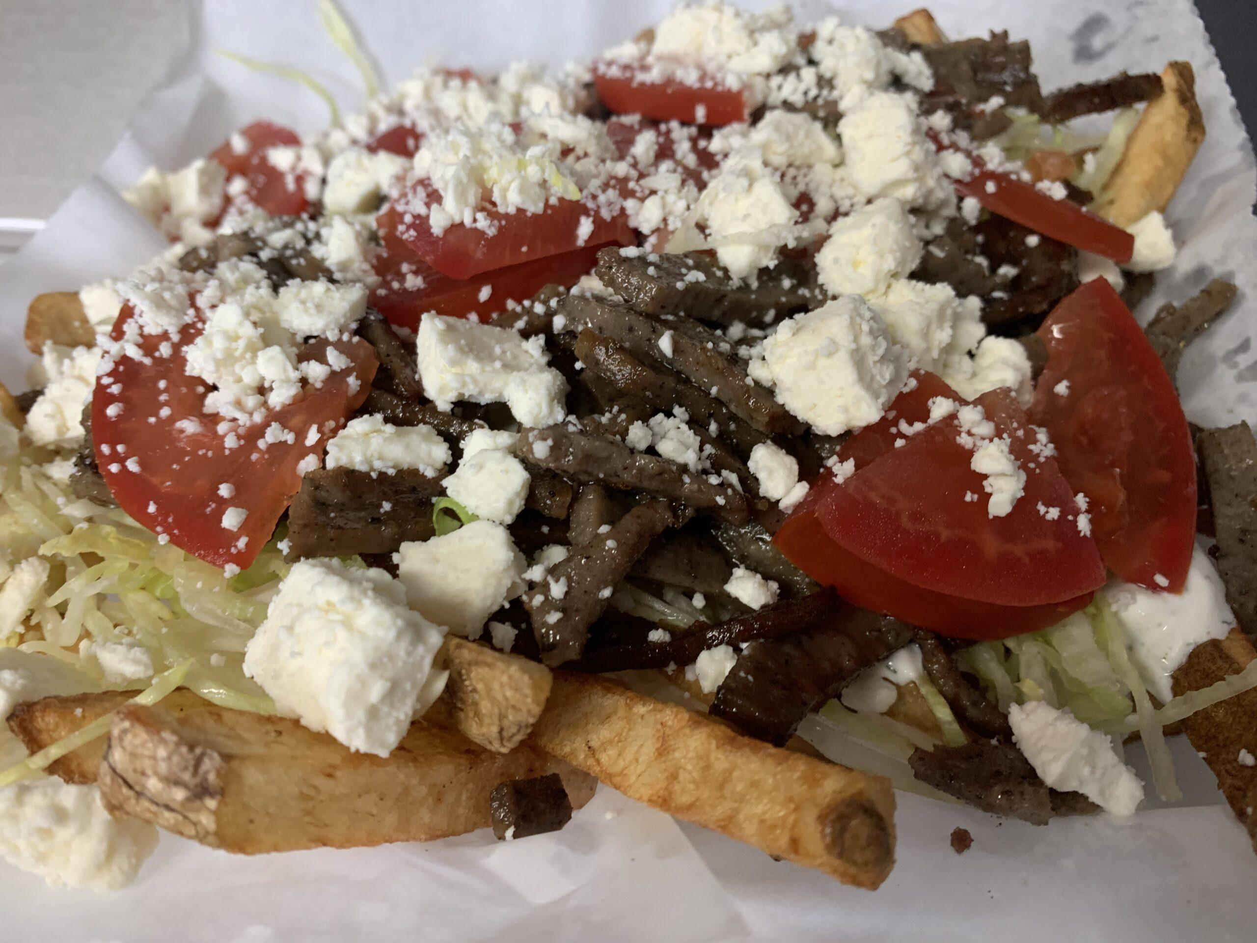 Gyro Fries - Gourmet Fries